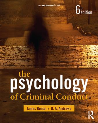 Psychology of Criminal Conduct, 6th ed. Paperback