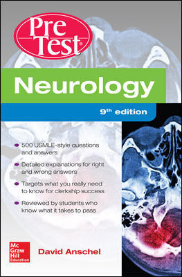 Neurology, 9th ed.- Pretest Self-Assessment & Review