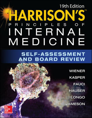 Harrison's Principles of Internal Medicine, 19th ed.- Self-Assessment & Board Review