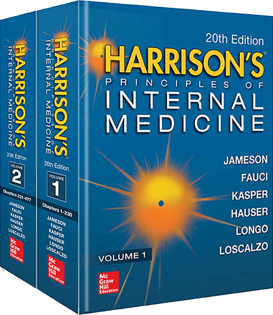 Harrison's Principles of Internal Medicine, 20th ed.,In 2 vols.