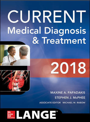 Current Medical Diagnosis & Treatment 2018 (57th ed.)