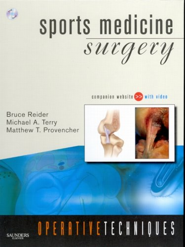 Operative Techniques: Sports Medicine SurgeryWith Website & DVD