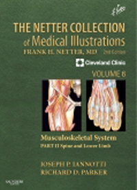 Netter Collection of Medical Illustrations, Vol.6,- Musculoskeletal System, Part 2: Spine & Lower Limb,2nd ed.