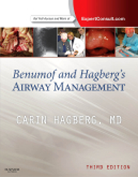 Benumof & Hagberg's Airway Management, 3rd ed.