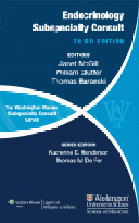Washington Manual Endocrinology Subspecialty Consult,3rd ed.