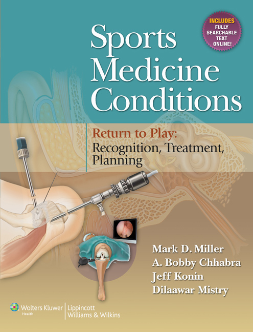 Sports Medicine Conditions- Return to Play: Recognition, Treatment, Planning(With Online Access)