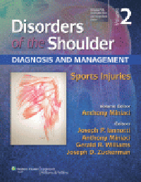 Disorders of Shoulder, 3rd ed.Vol.2: Sports Injuries-Diagnosis & Management (With Online Access)