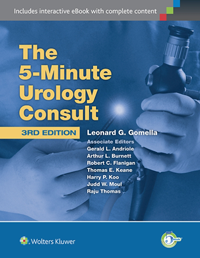 5-Minute Urology Consult, 3rd ed.