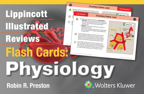 Lippincott's Illustrated Reviews Flash Card- Physiology