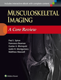 Musculoskeletal Imaging- A Core Review