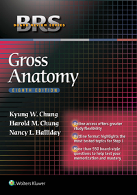 Gross Anatomy, 8th ed.(Board Review Series)