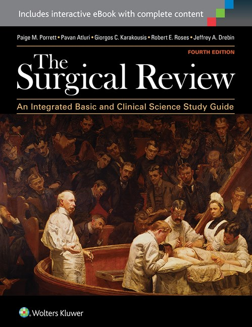 Surgical Review, 4th ed.- An Integrated Basic & Clinical Science Study Guide