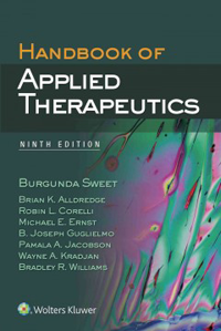 Handbook of Applied Therapeutics, 9th ed.