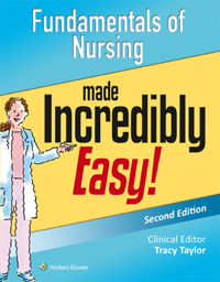 Fundamentals of Nursing Made Incredibly Easy!, 2nd ed.