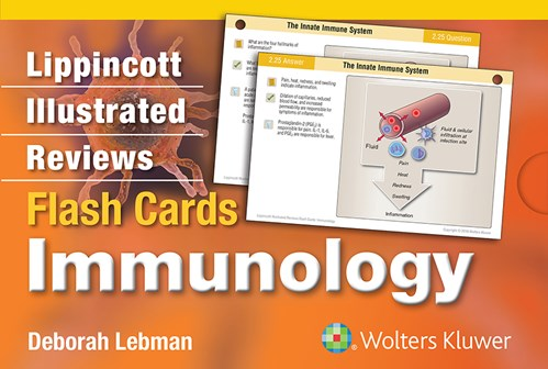 Lippincott's Illustrated Reviews Flash Card- Immunology