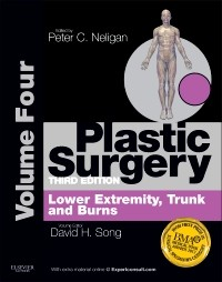 Plastic Surgery, 3rd ed., Vol.4: Lower Extremity, Trunk& Burns of Plastic Surgery