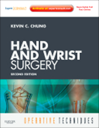 Operative Techniques: Hand & Wrist Surgery, 2nd ed.
