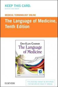 Medical Terminology Online for Language of Medicine(Access Code),10th ed.