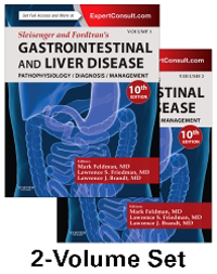 Sleisenger & Fordtran's Gastrointestinal &Liver Disease,10th ed., in 2 vols.- Pathophysiology / Diagnosis / Management