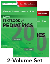 Nelson Textbook of Pediatrics, 20th ed., in 2 vols.