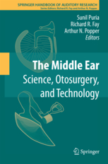 Middle Ear, Hardcover- Science, Otosurgery, & Technology