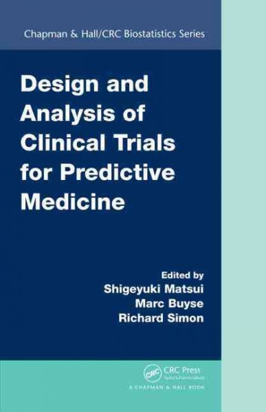 Design & Analysis of Clinical Trials for PredictiveMedicine