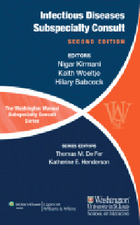 Washington Manual Infectious Diseases SubspecialtyConsult, 2nd ed.(Vital Source E-Book)