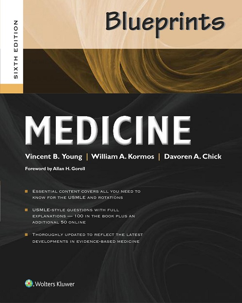 Blueprints Medicine, 6th ed.(Blueprints Series)
