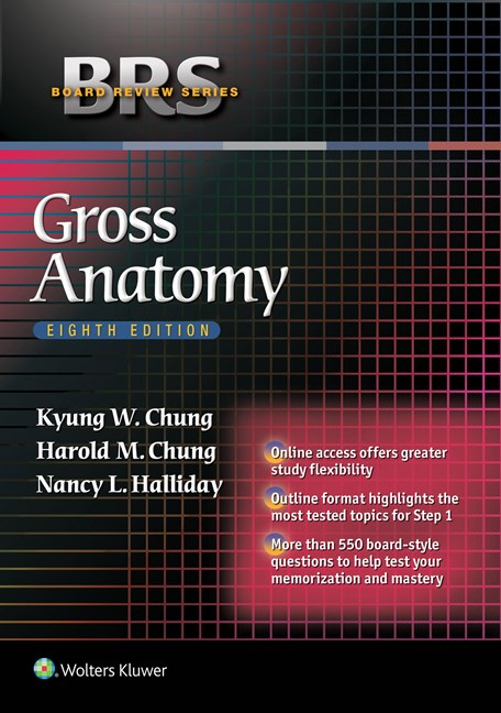 Gross Anatomy, 8th ed.(Board Review Series)(Vital Source E-Book)