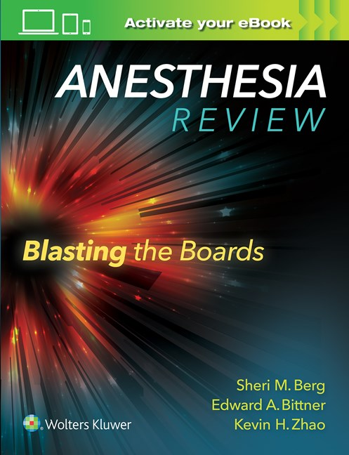 Anesthesia Review- Blasting Boards