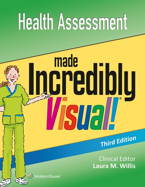 Health Assessment Made Incredibly Visual!, 3rd ed.