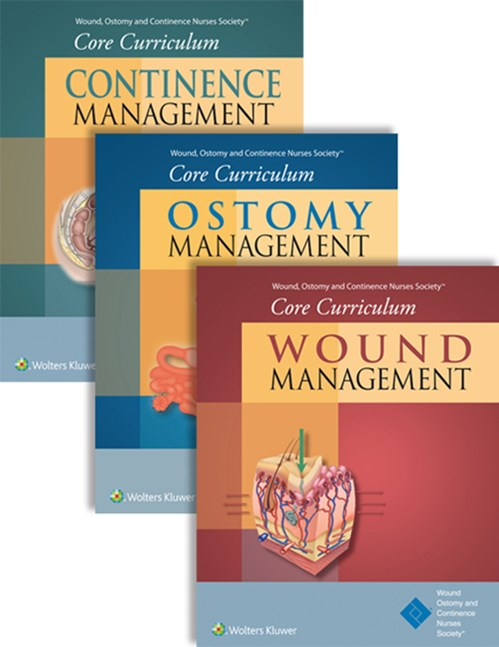 Wound, Ostomy & Continence Nurses Society CoreCurriculum Package: Wound Management, Ostomy Management& Continence Management (3 Books Package)