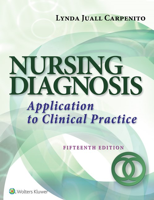 Nursing Diagnosis, 15th ed.(Int'l ed.)- Application to Clinical Practice