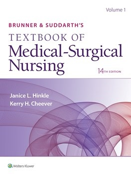 Brunner & Suddarth's Textbook of Medical-SurgicalNursing, 14th ed.(Int'l ed.)