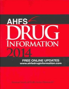 AHFS Drug Information 2014(American Hospital Formulary Service)