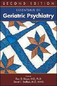 Essentials of Geriatric Psychiatry, 2nd ed.