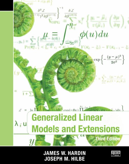 Generalized Linear Model & Extensions, 3rd ed.