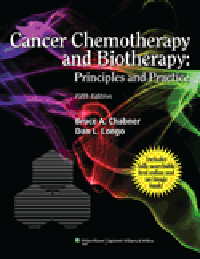 Cancer Chemotherapy & Biotherapy, 5th ed.- Principles & Practice