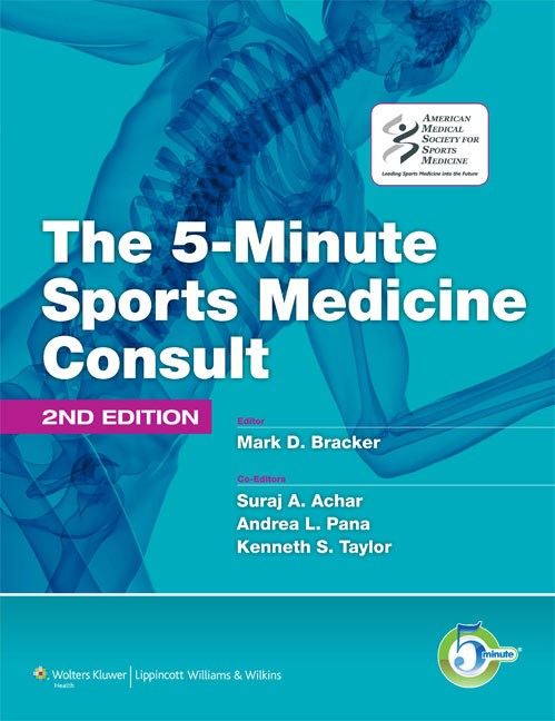 5-Minute Sports Medicine Consult, 2nd ed.