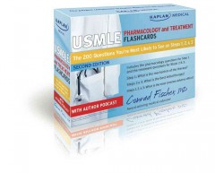USMLE Pharmacology & Treatment; Flashcards, 2nd ed.- 200 Questions You're Most Likely to See onSteps 1,2 & 3
