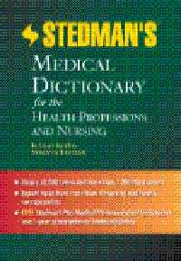 Stedman's Medical Dictionary for the HealthProfessions & Nursing,Illustrated, 7th ed.(Standard ed)With CD-ROM