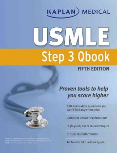 Kaplan Medical USMLE Step 3 CK Qbook, 5th ed.- Proven, Practical Tools to Help You Score Higher