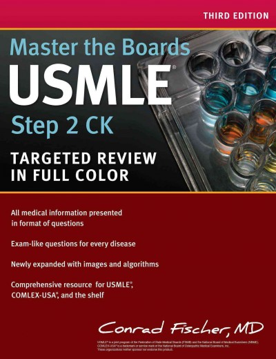 Master the Boards USMLE Step 2 CK, 3rd ed.- Targeted Review in Full Color