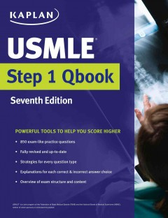 Kaplan Medical USMLE Step 1 Qbook, 7th ed.- Powerful Tools to Help You Score Higher