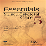 Essentials of Musculoskeletal Care, 5th ed.