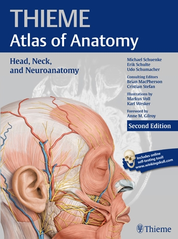 Head, Neck, & Neuroanatomy, 2nd ed.(Thieme Atlas of Anatomy)