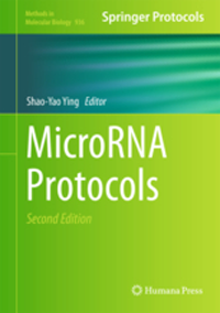 Microrna Protocols, 2nd ed.(Methods in Molecular Biology 936)