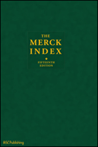 Merck Index, 15th ed.- An Encyclopedia of Chemicals, Drugs & Biologicals
