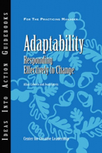 Adaptability- Responding Effectively to Change
