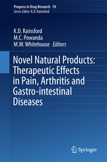 Progress in Drug Research, Vol.70- Novel Natural Products: Therapeutic Effects in Pain,Arthritis & Gastro-Intestinal Diseases